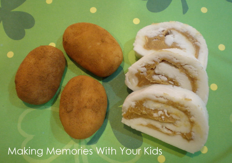 Irish Potato Candy - Making Memories With Your Kids