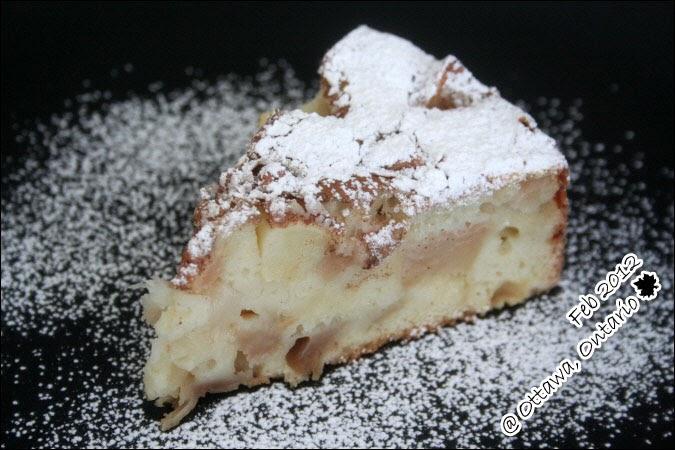 Heavenly apple cake recipe