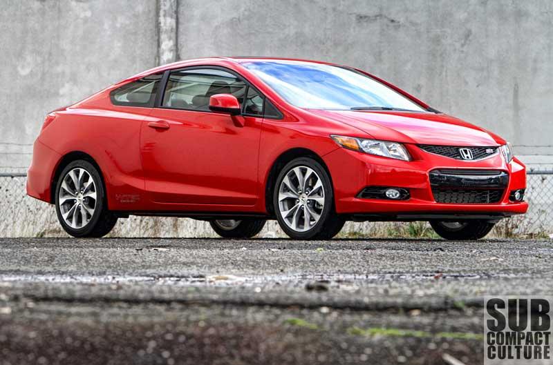 2012 Honda Civic Si Coupe   Subcompact Culture