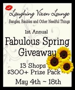 1st Annual Fabulous Spring Giveaway ~ May 4th - 18th