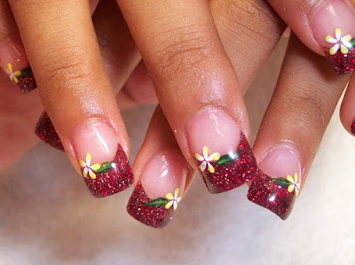 Colourful Nail Painting Art