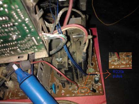 kerusakan monitor