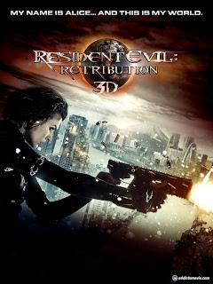Resident Evil 5: Retribution (Movie Trailer)