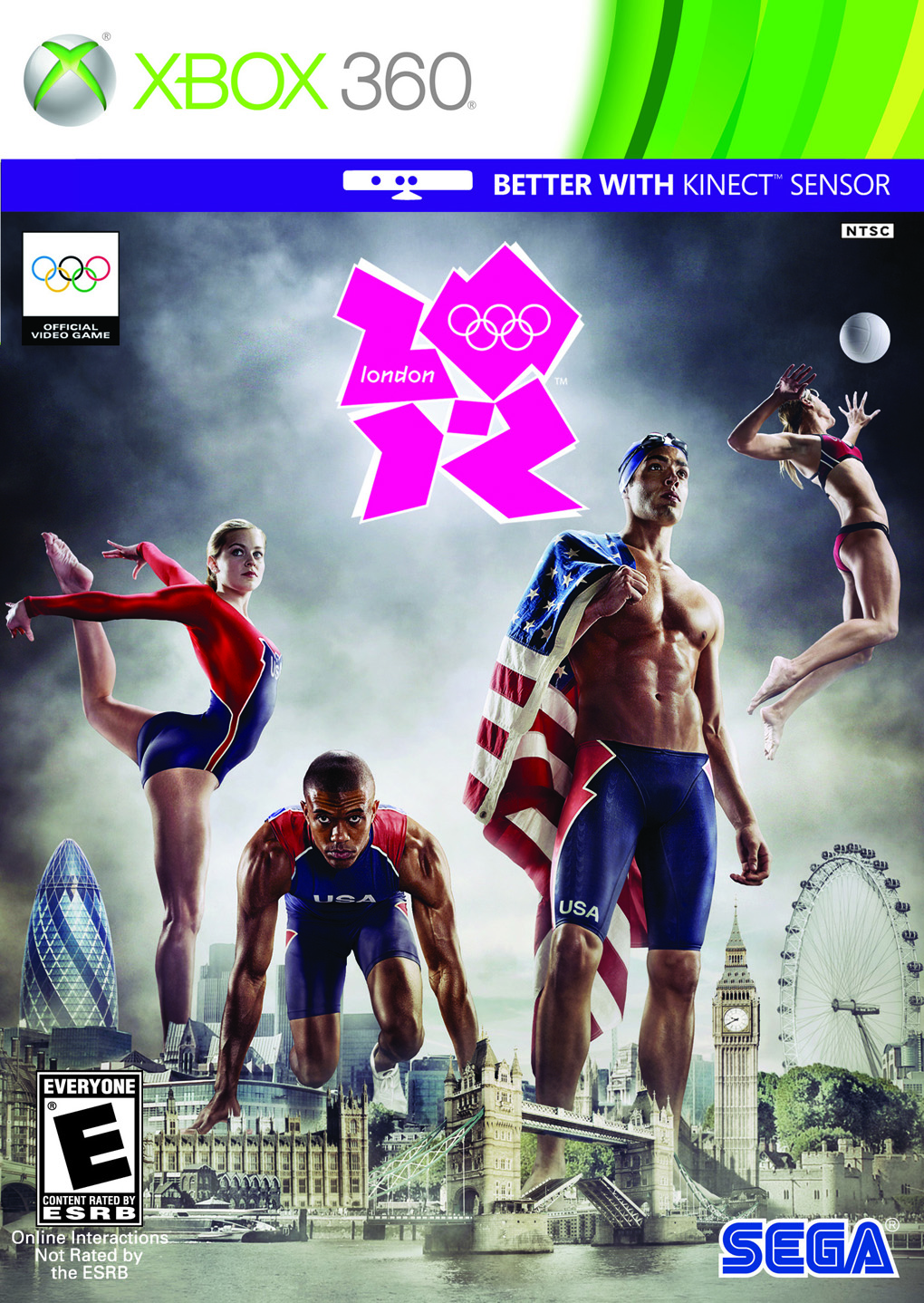 Xbox 360 Games 2012 : The olympics april