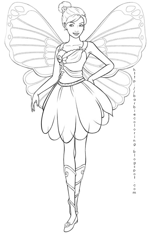 farytale princesss coloring pages - photo#28