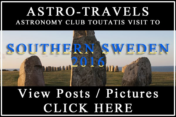 Read post series on Astronomy trip to Southern Sweden
