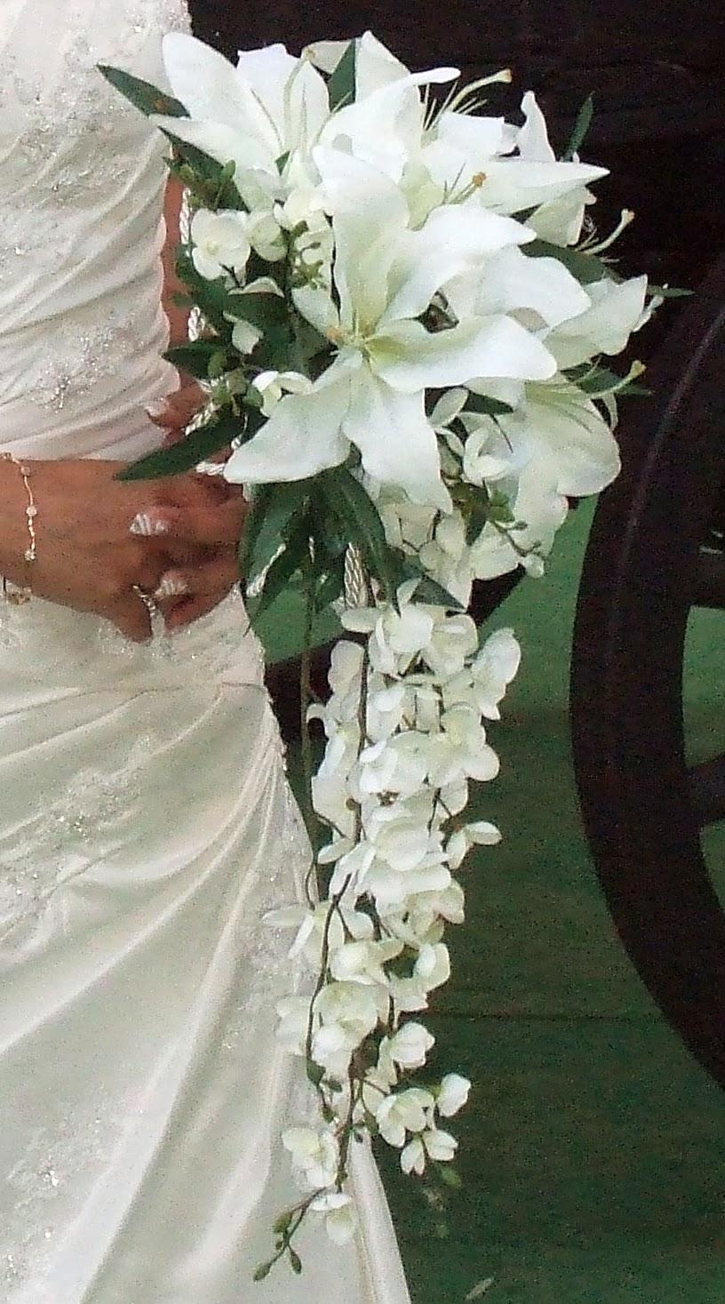 Ramos de novia en cascada parte 2 - Ramos de calas para novias ...