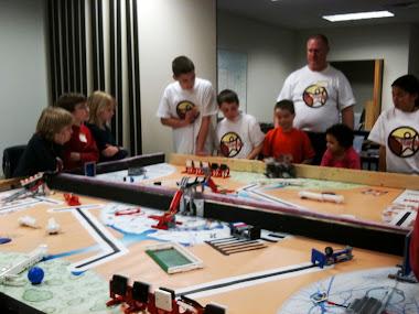 Lego Robotics Club Open House
