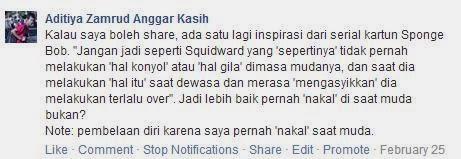 Jangan Seperti Squidward