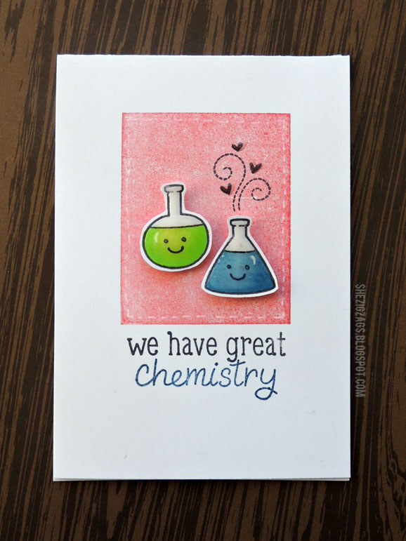 Science of Love Card by She Zig Zags