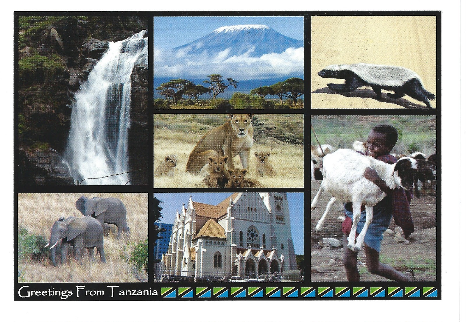 My Postcard Page Tanzania Greetings From