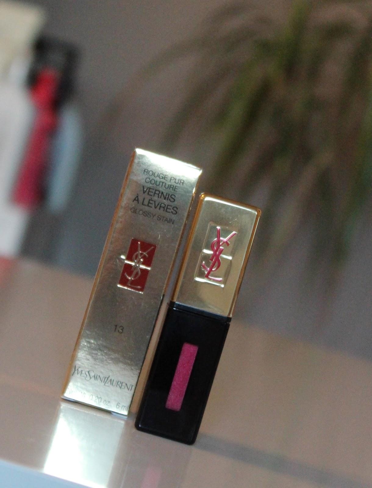 YSL Glossy Stain u nijansi #13 Rose Tempura