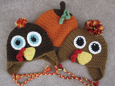 The Worsted Crochet Blog Turkey Hat