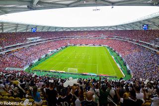 ESPORTES - Comitê divulga lista de itens proibidos e restritos que não podem ser levados para a Arena da Amazônia, nos dias dos Jogos Olímpicos