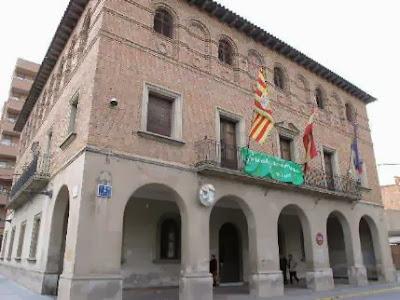 Foto del ayuntamiento de Binéfar
