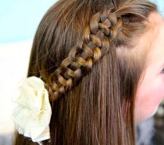 imagenes, fantasia y color: los mas lindos peinados para niÑas