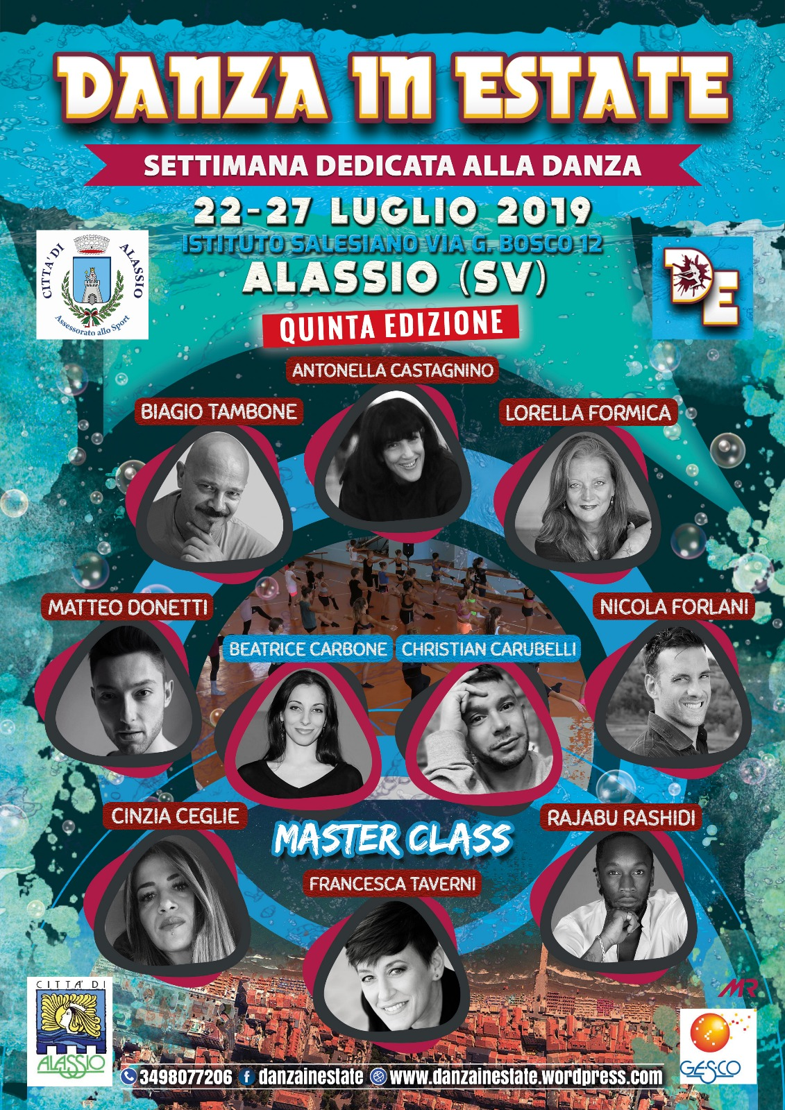DANZA IN ESTATE 2019 (BANDO OSTELLO)