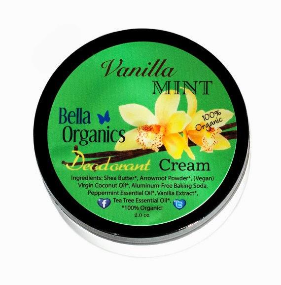 Vanilla Mint Deodorant Creme