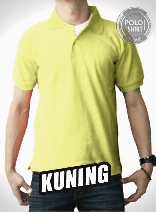 Polo Shirt Polos Kuning
