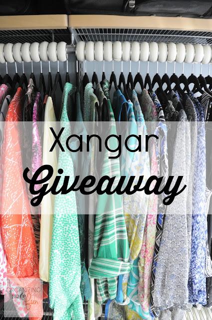Xangar spacers giveaway :: OrganizingMadeFun.com