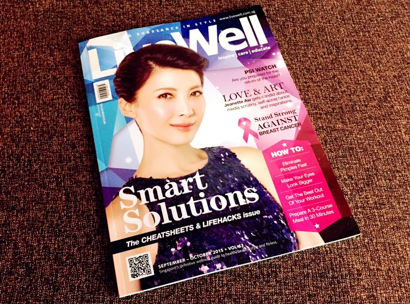livewell magazine features luxury haven recipes