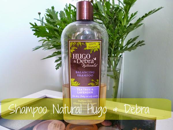 Shampoo Hugo&Debra Naturals, vegano y libre de crueldad.