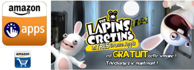 Le blog malin amazon apps the lapins cr tins la tres - Lapin malin gratuit ...