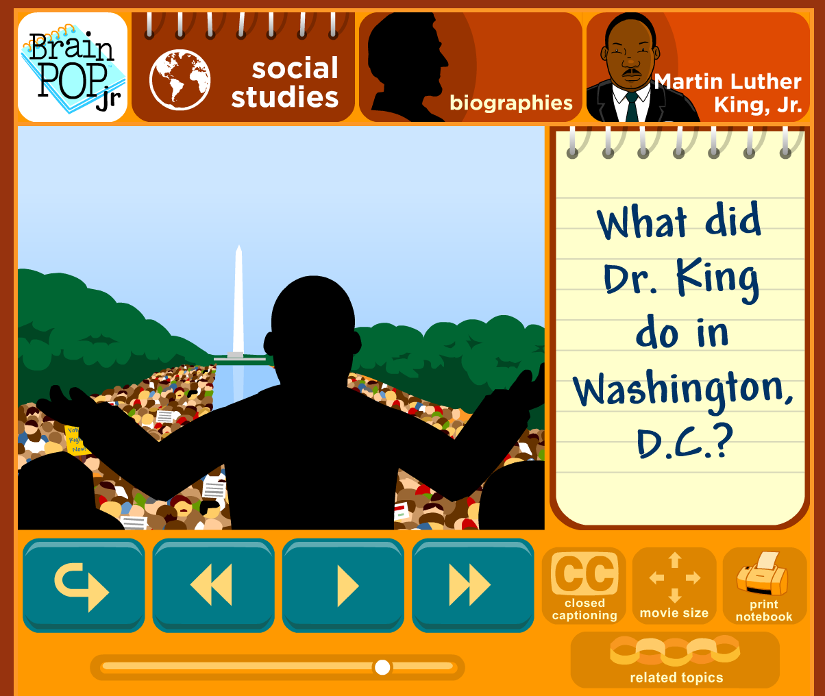 Uncategorized Brainpop Mlk martin luther king in 1st grade the brown bag teacher brainpop jr s free mlk video gives up a general overview and something to really dig into many of our graders have never heard dr