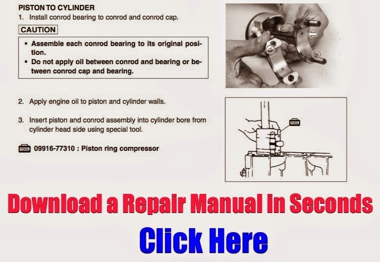 Download Suzuki Atv Repair Manuals Atv  Download Suzuki Repair Manual Eiger 400 King Quad Z400