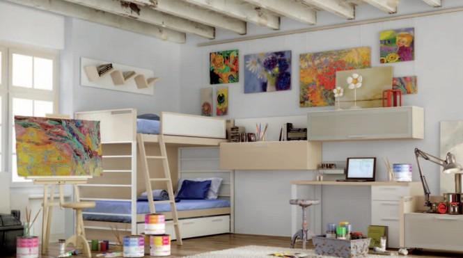 Modernes mod les de chambre ado d cor de maison - Modele chambre ado ...