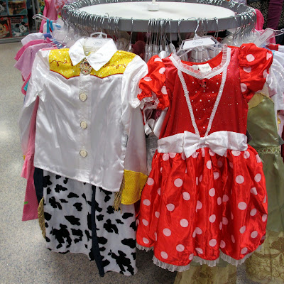 Holiday Shopping at the Disney Store Outlet costumes