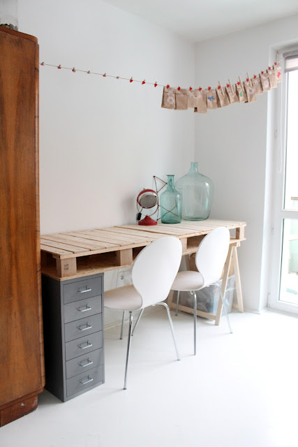 Comparte tus ecoideas escritorio de palets - Escritorio de palets ...