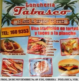 loncheria tabasco