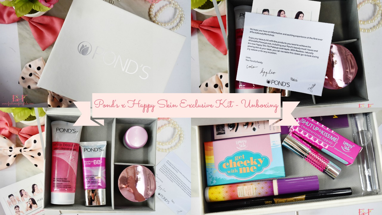Pond's x Happy Skin Exclusive Kit | Unboxing