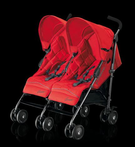Neonato Twin Breeze criandomultiples.blogspot.com carros gemelares criando multiples