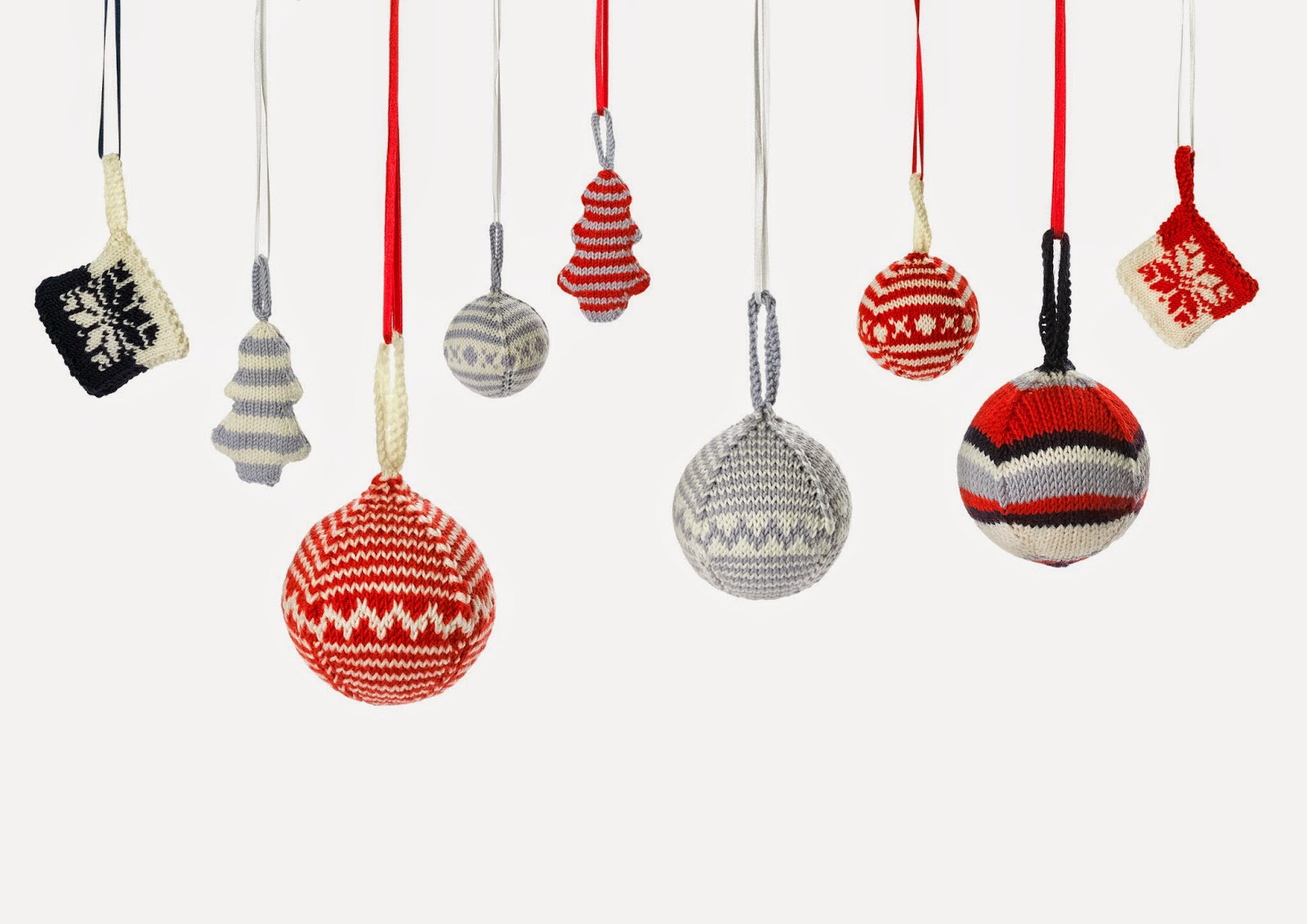 How to read the patterns of baubles
