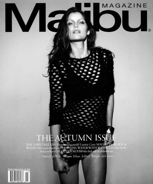 Laetitia Casta Malibu Magazine November 2011