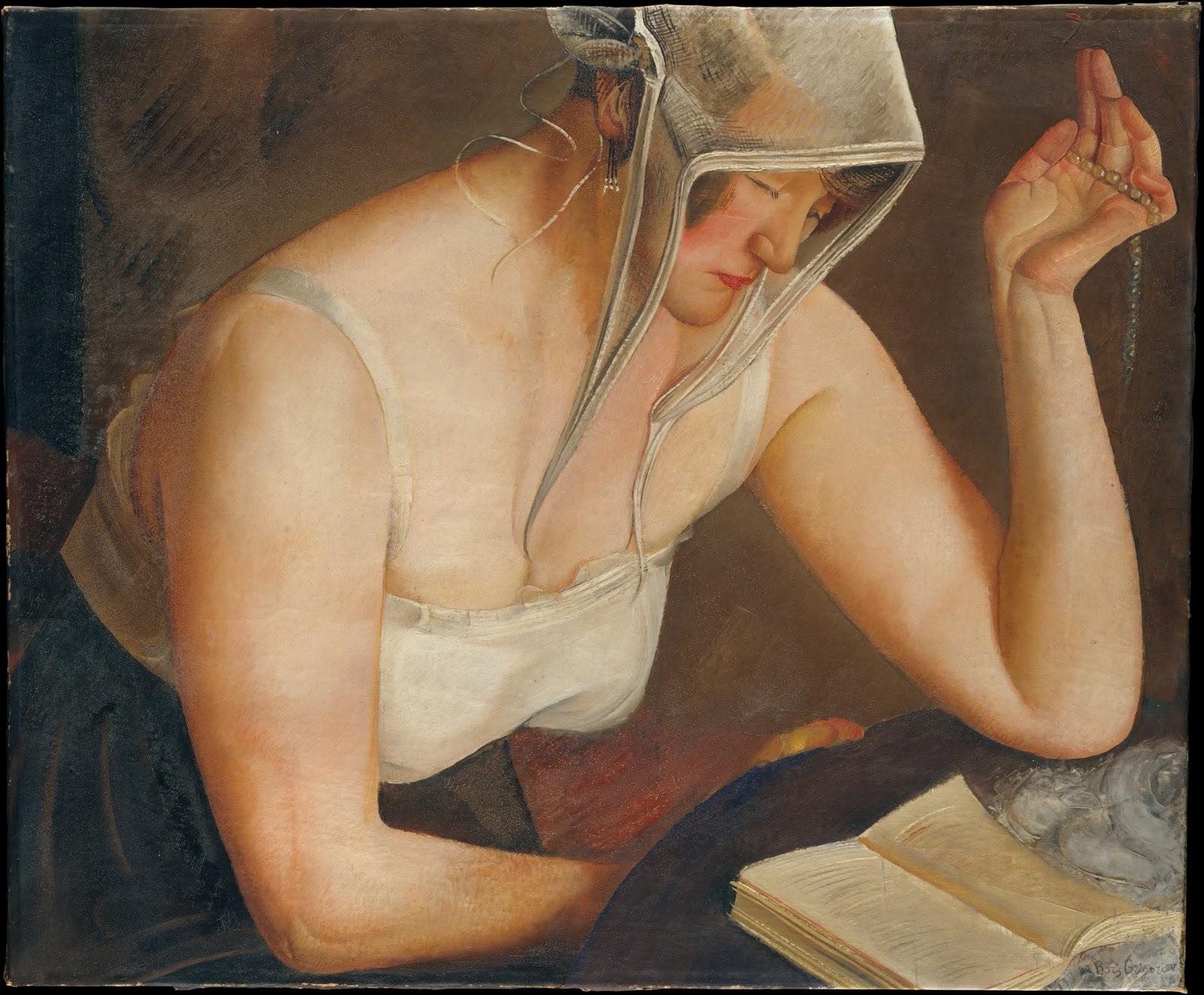 Бори́с Дми́триевич Григо́рьев 1886-1939 | Russian Realist painter