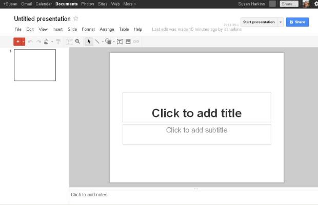 Google Doc Powerpoint