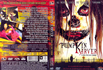 Filme Pumpkin Karver - A Nova Face do Terror DVD Capa