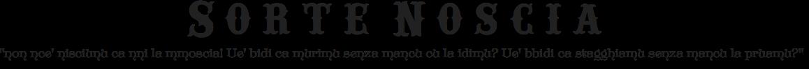 Sorte Noscia