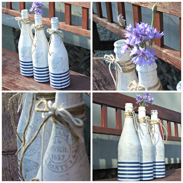 Ekologiczne wazony z butelek by Eco Manufaktura