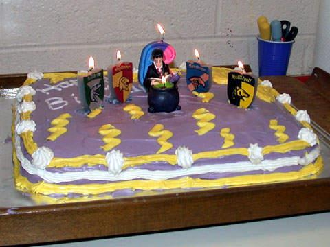 Harry Potter Birthday Cake Ideas