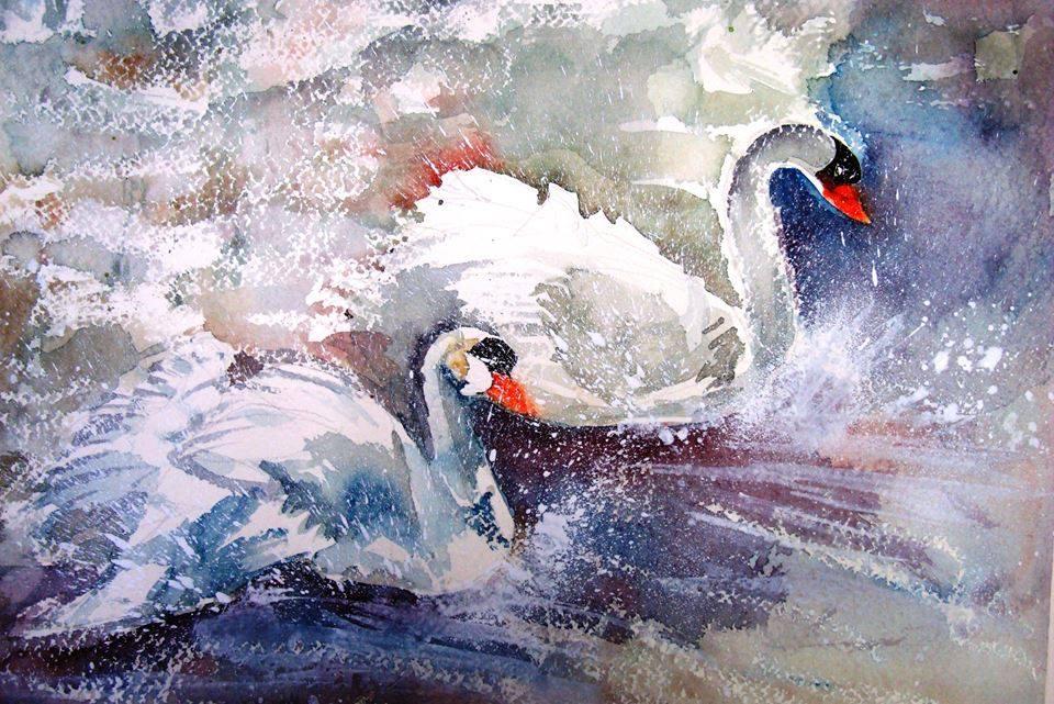 spesso Calendario: Pittura ad acquarello JH33