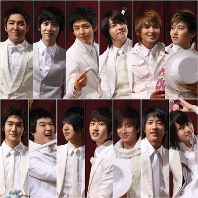 Foto Ungu Band on Super Junior Boy Band Korea
