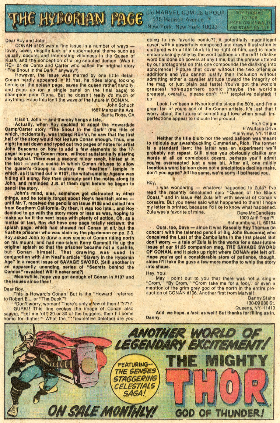 Conan the Barbarian (1970) Issue #112 #124 - English 21