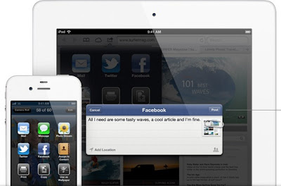 Facebook Native Integration App for iOS 6