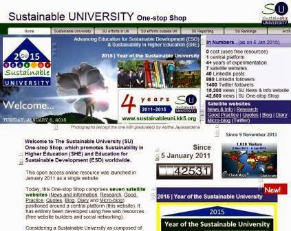 The Sustainable University One-stop Shop