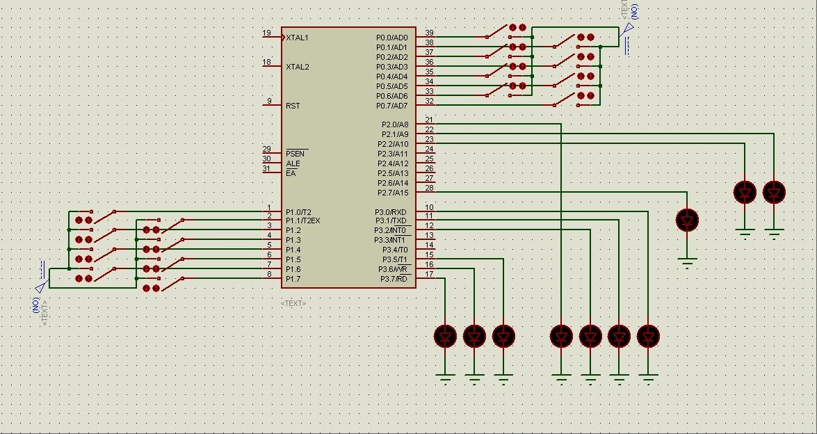 Technology World  3bit Microprocessor using    89C51