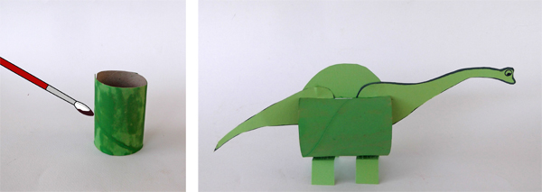animal crafts, cardboard paper crafts,